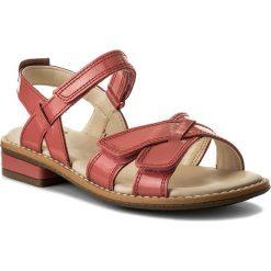 Sandały dziewczęce: Sandały CLARKS – Darcy Charm 261337636 Coral Patent