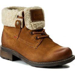 Botki LASOCKI - WI16-VIVA-06 Camel. Brązowe buty zimowe damskie Lasocki, z nubiku. Za 229,99 zł.