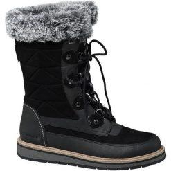 Śniegowce damskie Bench czarne. Czarne buty zimowe damskie Bench, z materiału. Za 219,90 zł.