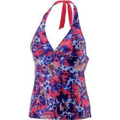 : Koszulka tanikini w kolorze niebiesko-różowym