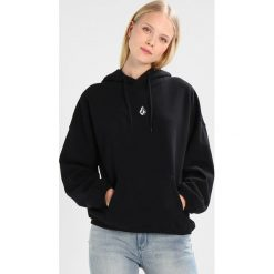 Bluzy rozpinane damskie: Volcom ROLL IT UP HOODY Bluza z kapturem black