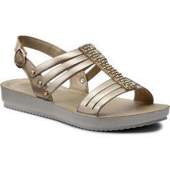 Rzymianki damskie: Sandały INBLU – BMAQOO15 Złoty