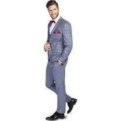 Garnitur LEONARDO GAGS000138. Czerwone garnitury Giacomo Conti, w jednolite wzory, z tkaniny. Za 1299,00 zł.