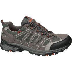 Trekkingowe buty męskie Highland Creek popielate. Szare buty trekkingowe męskie Highland Creek, z materiału, na sznurówki. Za 83,00 zł.