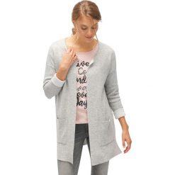 Kardigany damskie: Długi sweter bez zapięcia