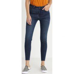 Lee SCARLETT HIGH CROPPED Jeans Skinny Fit palooza blue. Niebieskie jeansy damskie relaxed fit Lee, z bawełny. Za 379,00 zł.