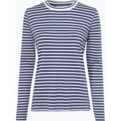 Marie Lund - Damska koszulka z długim rękawem, niebieski. Niebieskie t-shirty damskie Marie Lund, xl, w paski, z bawełny. Za 89,95 zł.