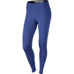 Legginsy damskie NIKE LEG-A-SEE LEGGING / 726085-480 - NIKE LEG-A-SEE LEGGING. Niebieskie legginsy sportowe damskie Nike, z napisami. Za 69,00 zł.