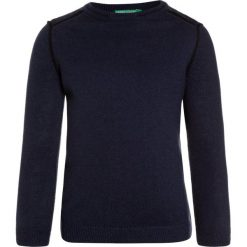 Swetry chłopięce: Benetton Sweter dark blue