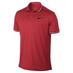Nike Koszulka Tenisowa M Nkct Dry Polo Solid Pq Red M. Czerwone koszulki polo Nike, m. Za 149,00 zł.