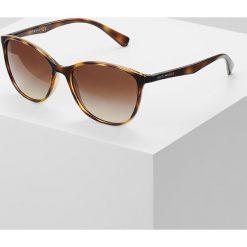 Emporio Armani Okulary przeciwsłoneczne havana. Brązowe okulary przeciwsłoneczne damskie lenonki Emporio Armani. Za 479,00 zł.