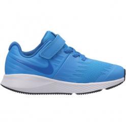 Nike Buty Do Biegania Star Runner Ps Pre-School Shoe Equator Blue Nebula-Black-White 31,5. Niebieskie buciki niemowlęce chłopięce marki Born2be, z materiału, z okrągłym noskiem, na obcasie. Za 259,00 zł.