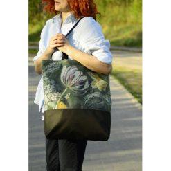Shopper bag damskie: Torba na zakupy Flower