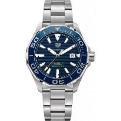 ZEGAREK TAG HEUER AQUARACER WAY201B.BA0927. Niebieskie zegarki męskie TAG HEUER, ceramiczne. Za 10450,00 zł.