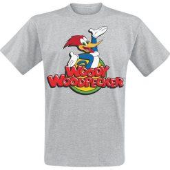 T-shirty męskie: Woody Woodpecker Classic Logo T-Shirt odcienie szarego