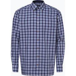 Eterna Comfort Fit - Koszula męska łatwa w prasowaniu, niebieski. Niebieskie koszule męskie na spinki Eterna Comfort Fit, m, z dekoltem karo. Za 249,95 zł.