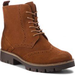 Trapery CAPRICE - 9-25209-21 Cognac Oily Su 353. Brązowe buty zimowe damskie Caprice, z materiału. Za 349,90 zł.