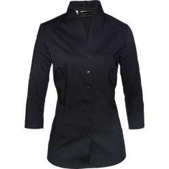 Bluzka ze stójką bonprix czarny. Niebieskie bralety marki ARTENGO, z elastanu, ze stójką. Za 74,99 zł.