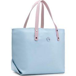 Torebka GOSHICO - Fuutou 3369  Miętowa Różowe Rączki. Niebieskie torebki klasyczne damskie GOSHICO. W wyprzedaży za 249,00 zł.