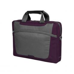 "Sumdex PON-318PL-1 15""-16"" fioletowa. Fioletowe torby na laptopa marki Sumdex, w paski. Za 79,90 zł."