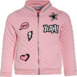 OVS BOMBER PATCHES Kardigan candy pink. Czarne swetry dziewczęce marki OVS, z materiału. Za 149,00 zł.