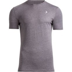 T-shirt męski TSM601 - średni szary melanż - Outhorn. Szare t-shirty męskie Outhorn, na lato, m, melanż, z bawełny. W wyprzedaży za 29,99 zł.