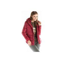 Kurtka damska zimowa, z futerkiem z kieszeniami, taliowana, rozpinana, pikowana. Szare kurtki damskie pikowane marki TXM. Za 49,99 zł.