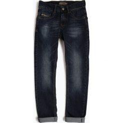 Blue Effect - Jeansy chłopięce slim fit, niebieski. Niebieskie jeansy chłopięce Blue Effect. Za 169,95 zł.