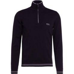 BOSS ATHLEISURE ZIME Sweter black. Niebieskie kardigany męskie marki BOSS Athleisure, m. W wyprzedaży za 347,40 zł.