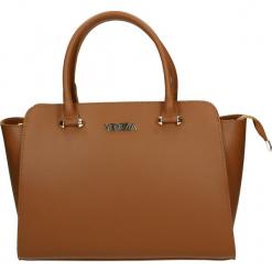 Torba - 8-102-O R CUO. Żółte torebki klasyczne damskie Venezia, ze skóry. Za 329,00 zł.