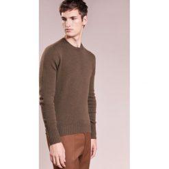 Swetry klasyczne męskie: Drumohr Sweter verde scuro