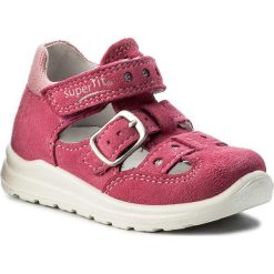 Creepersy damskie: Półbuty SUPERFIT - 2-00430-64 Pink Kombi