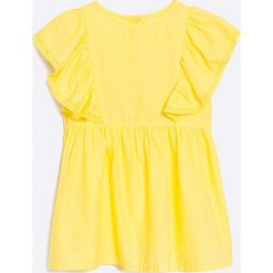 Zippy - Top dziecięcy 128-152 cm. Czarne bluzki dziewczęce marki bonprix, z bawełny. W wyprzedaży za 24,90 zł.