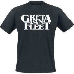 Greta Van Fleet Logo T-Shirt czarny. Czarne t-shirty męskie Greta Van Fleet, xl. Za 89,90 zł.