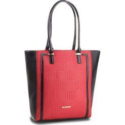 Torebka MONNARI - BAG3550-M20 Red With Black. Czarne torebki klasyczne damskie Monnari, ze skóry ekologicznej. W wyprzedaży za 199,00 zł.
