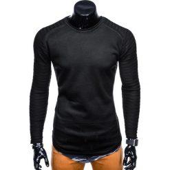 SWETER MĘSKI E111 - CZARNY. Czarne swetry klasyczne męskie Inny, m. Za 39,00 zł.