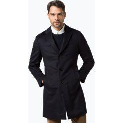 Płaszcze męskie: Joop – Płaszcz męski z dodatkiem kaszmiru – Mariso, niebieski