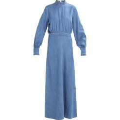 Sukienki hiszpanki: JUST FEMALE ROCKET DRESS Sukienka jeansowa light blue denim