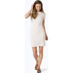 BOSS Casual - Sukienka damska – Damarino, różowy. Czerwone sukienki hiszpanki BOSS Casual, na co dzień, l, w paski, casualowe, z falbankami. Za 599,95 zł.