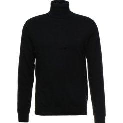 Calvin Klein Jeans BLEND TURTLE NECK Sweter black. Czarne swetry klasyczne męskie Calvin Klein Jeans, m, z bawełny. Za 419,00 zł.