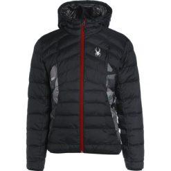 Kurtki narciarskie męskie: Spyder GEARED HOODY SYNTHETIC Kurtka narciarska black/black camo