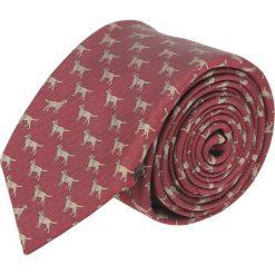 Krawat platinum bordo classic 238. Różowe krawaty męskie marki Reserved. Za 49,00 zł.