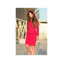 CZERWONA SPÓDNICA OŁÓWKOWA BASIC BAWEŁNA. Czerwone spódniczki dzianinowe Bien fashion, xxl, dopasowane. Za 69,00 zł.