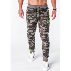 Spodnie dresowe męskie: SPODNIE MĘSKIE DRESOWE P626 – MORO