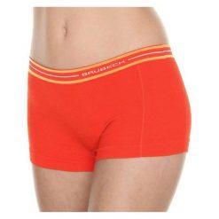 Bokserki damskie: Brubeck Bokserki damskie Active Wool pomarańczowe r.L (BX10860)