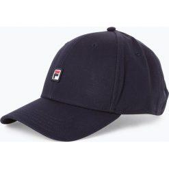 FILA - Męska czapka z daszkiem, czarny. Czarne czapki z daszkiem męskie Fila, z aplikacjami, z bawełny, sportowe. Za 129,95 zł.