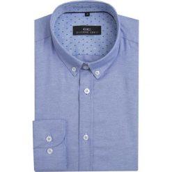 Koszula SIMONE10D KDNS000100. Niebieskie koszule męskie na spinki Giacomo Conti, m, z bawełny, button down. Za 149,00 zł.