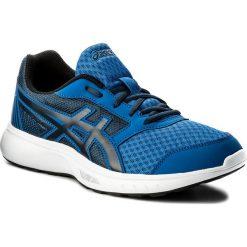 Buty ASICS - Stormer 2 T843N Victoria Blue/Black/Dark Blue 4590. Szare buty do biegania męskie marki Asics. W wyprzedaży za 159,00 zł.