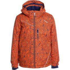 Kurtki chłopięce przeciwdeszczowe: Kamik HUNTER POWERSURGE Kurtka snowboardowa orange blast/navy