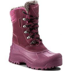 Śniegowce CMP - Kinos Wnm Snow Boots Wp 3Q48866 Berry C756. Czerwone śniegowce damskie CMP, z materiału. W wyprzedaży za 259,00 zł.